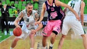 Гларуса с 13 точки при победа на Олимпия в Адриатическата лига