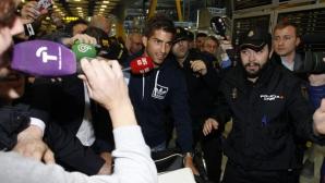 Лукаш Силва пристигна в Мадрид: Мечтата ми се сбъдна