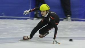 Катрин Маноилова остана 22-ра на 1000 метра на европейското по шорттрек