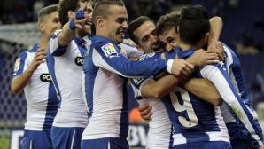 Еспаньол разгроми Алмерия, Стуани с два гола (видео)