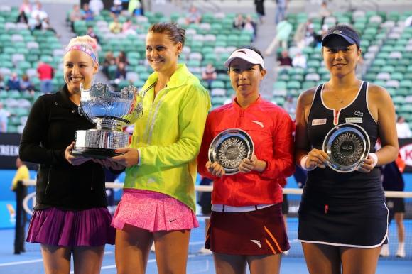 Матек-Сандс и Шафаржова спечелиха титлата на двойки при жените на Australian Open