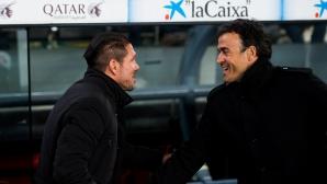 Луис Енрике: Очаквам грубата версия на Атлетико