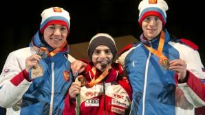 Владимир Зографски: Благодаря за подкрепата, златото значи много за мен