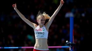 Лицвинко първа премина 2.00 метра в скока на височина през 2015-а