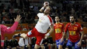 Испания - Франция и Катар - Полша са 1/2-финалите на СП по хандбал (видео)