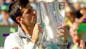 Джокович ще защитава титлата си в Индиън Уелс срещу Федерер, Надал и Григор