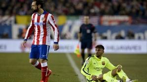 Играч на Атлетико се подигра на Неймар (видео)
