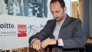 Топалов и Антоанета Стефанова с победи в Гибралтар, първа загуба за Чепаринов