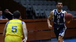 Черноморец спечели дербито на дъното в НБЛ