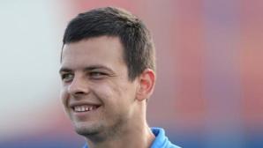 Пламен Димов кара проби в тим от Казахстан
