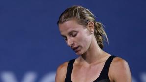 Каратанчева срещу Катерина Бондаренко в квалификациите в Монтерей
