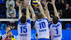 Тодоров и Алексиев с 13-а победа в Русия, Сургут среща Локо (Новосибирск) в плейофите