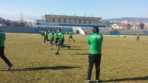 Футболистите на ПФК Бургас с премии за служебната победа