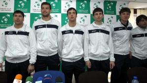 Националите по тенис заминават за Юрмала в понеделник сутринта