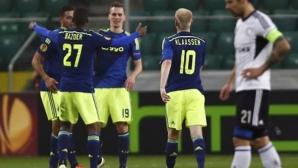 Аякс нанесе първо поражение на ПСВ като домакин в дербито на Холандия