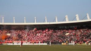 Гавра с феновете на ЦСКА преди мача с Локомотив - така ли се връща публиката на стадиона? (видео)