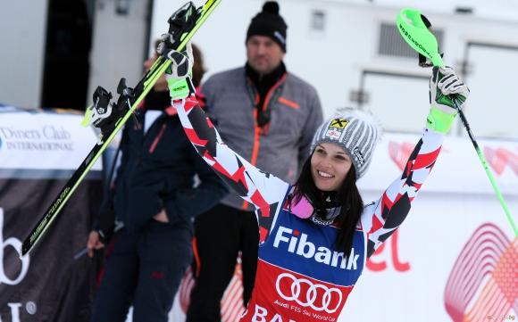 Анна Фенингер спечели Супер-Г в Банско