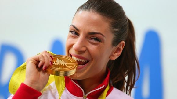 Шпанович европейска шампионка в скока на дължина с рекорд на Сърбия