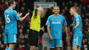 Отмениха сбъркания червен картон на Браун срещу Манчестър Юнайтед