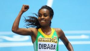 Гензебе Дибаба се готви за 5000 м на СП в Пекин
