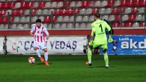 Галин Иванов с първи гол в Турция