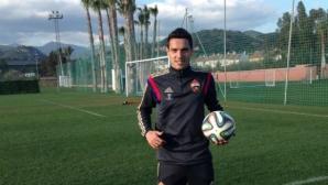 Жоро Миланов готов за следващия мач на ЦСКА