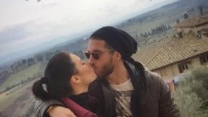 Рамос и Рубио на роматична почивка в Тоскана (снимки)