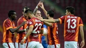 Галатасарай нанесе тежка загуба на отбора на Хичо