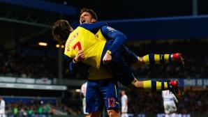 Арсенал сломи лондонски съперник и се придържа към курса