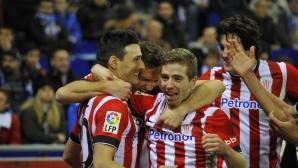 Класика във финала за Купата на краля, Атлетик Билбао не позволи каталунски сблъсък