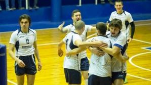 Черно море БАСК надигра Локо (Пловдив) с 3:0 в отложен мач от Висшата лига