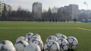 В Дунав притеснени единствено от времето за мача с Черноморец