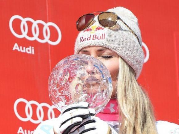 Линдзи Вон спечели в Мерибел и прибра малкия кристален глобус