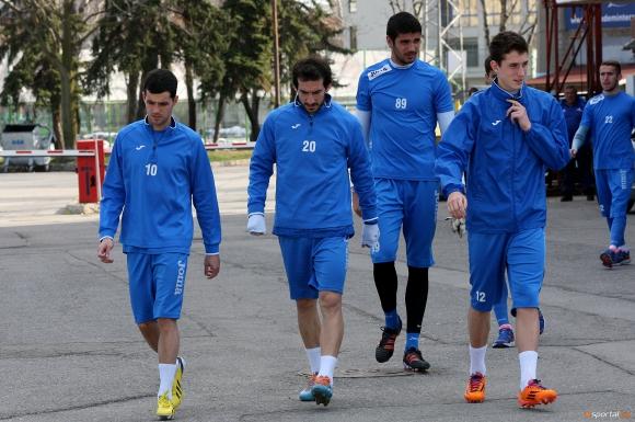 Групата на Левски за мача с Хасково