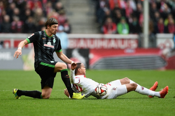 Късен гол от дузпа спаси Кьолн срещу Вердер (видео)