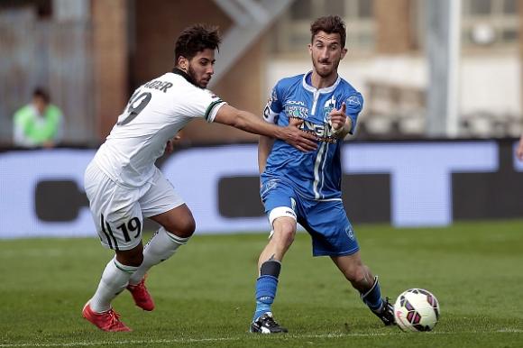 Сапонара с два гола при победа на Емполи над Сасуоло (видео)