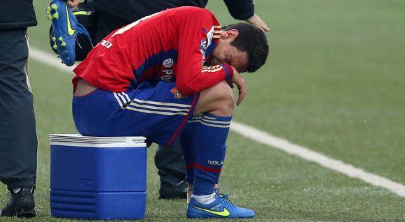 Травмата на Миланов не е сериозна, ще бъде готов за Италия