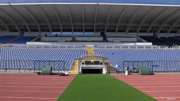 Националите не са пълнили стадиона от десет години