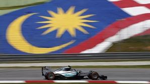 Нико Розберг най-бърз в Малайзия, проблеми за Хамилтън