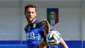 Италия загуби двама титуляри за мача с България, халф на Юве с тежка травма