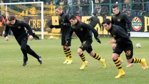 Футболистите на Ботев Пд излязоха в почивка