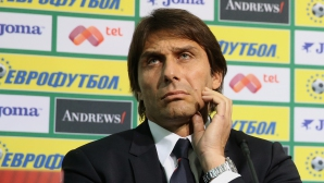 Конте: Мисля само за мача с България