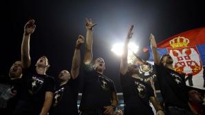Полицията в Подгорица не пусна сръбски фенове на мача с Русия