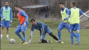 Левски тренира комбинации на скорост и агресия в атакуващ план