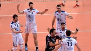 Соколов с 20 точки, Халкбанк би Галатасарай с 3:1 и е на финал за Купата на Турция (ГАЛЕРИЯ))