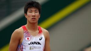 Кируи пробяга 100 м за 9.87 сек