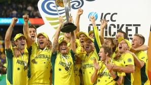 Австралия спечели рекордна пета титла от Световната купа по крикет