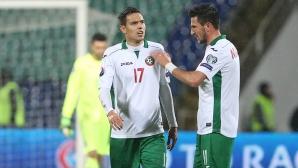 Играещи в Русия бяха в основата на добрата игра на България