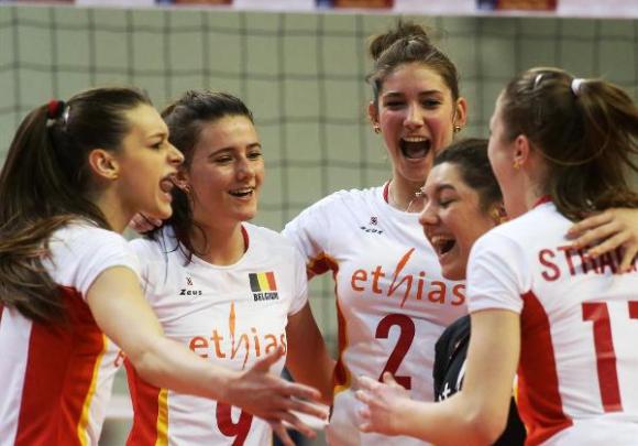 Белгия с пълен актив в групата на България на Евроволей 2015
