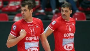 Златанов с 14 точки, Пиаченца с победа за чест в Италия